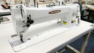 Consew 206rbl 18 Fully Assembled 18 Long Arm Walking Foot Sewing Machine