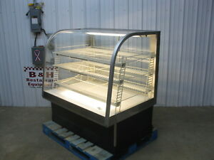 Federal 4 Lighted Glass Donut Bakery Pastry Cookie Dry Display Show Case Cg 48