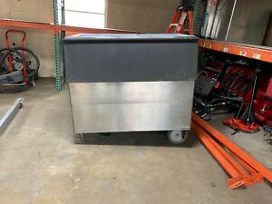 Hoshizaki B 900sf 660lb Ice Storage Bin 52in Stainless Steel B900 B900sf