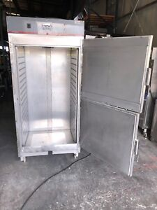 Carter hoffmann Rtb341 Quicktherm rethermalizer Cabinet W Roll in Dolly