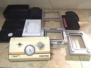 Tomtec Quadra 96 Support Trays And Vacuum Control Module