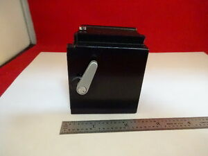 Microscope Part Leica Stage Table Holder As Is 44 a 03