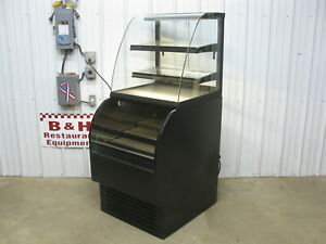 Structural Concepts Refrigerated Dual Service Bakery Display Show Case Cou2765r