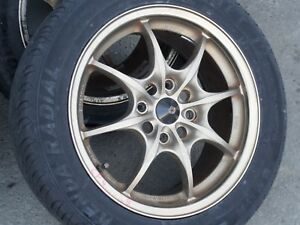 Rare Honda Mugen Forged Monoblocks Mf 8 16x7 0j 52 4 114 3