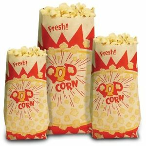 1 ounce Popcorn Bags 1 000 count Sports Outdoors