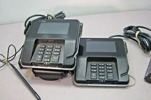 Lot Of Two 2 Verifone Mx915 Pid pad Credit Card Device M132 409 01 r
