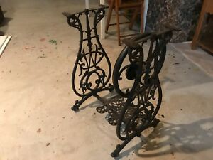 Antique Willcox Gibbs Cast Iron Sewing Machine Base