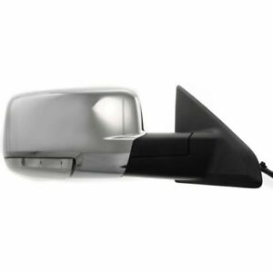 For Dodge Ram Truck 09 12 Mirror Power Heated W Signal W Memory Chrome Right