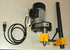 Emco Compact 5 8 Lathe Vertical Milling Attachment 14mmx1 Spindle Thread A28s