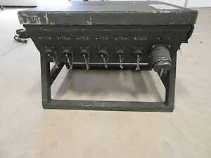 Military M40 A p Power Distribution Circiut Breaker System Generator