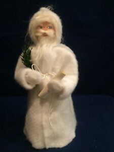 Primitive German Santa Handmade Folk Art Santa Doll Christmas D Cor Reduced
