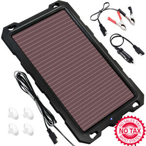Solar Battery Charger Car 3 3w 12v Solar Trickle Charger Portable