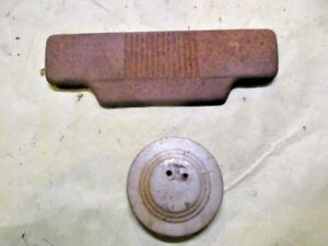 1950 Ford Car Radio Clock Delete Plates Covers Ratrod