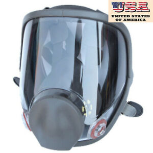 Usa Full Face Dust Facepiece Respirator Painting Spraying Gas Mask For 6800