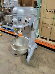 Hobart H600t Commercial 60 quart All Purpose Mixer W 60qt Bowl 3 Phase 200v