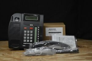 Norstar Nortel Avaya T7208 Refurbished Charcoal Phone Free Freight
