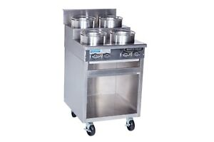 Rankin delux Orsu 848 f c ss Commercial Gas Step up Wok Range W Ss Cabinet Base