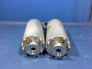 Edwards A50588000 High Vacuum Silencer Lot Of 2