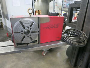 Haas Hrt 210 Programmable Rotary Table brush Type Drive
