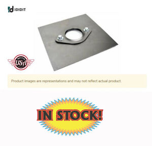 Ididit 2401120010 Collapsible Floor Mount With Plate For 1 1 2 Steering Column