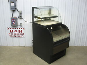 Structural Concepts Oasis Dual Service Refrigerated Bakery Display Case Cou2757r