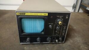 Vintage Bk Precision Model 1461 Oscilloscope 10mhz