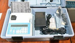 Hach Dr 2000 Version 3 1 Spectrophotometer Water Analysis W Case Accessories