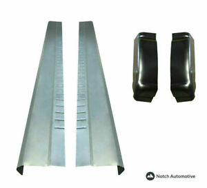 Chevy Silverado Gmc Sierra 99 06 Slip On Rocker Panels And Cab Corners Pair
