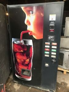 Drink Soda Pepsi Coke Vending Machine W Key Dollar Accepter Send Best Offer