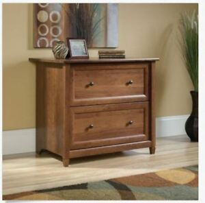 Lateral File Cabinet Legal Size Executive Wood Home Office 2 Drawer Furniture