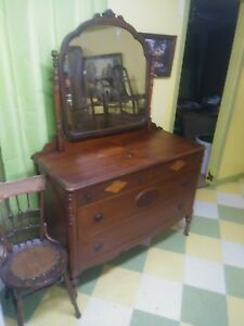 Antique Furniture Dresser Vintage Old Louisiana Pick Up