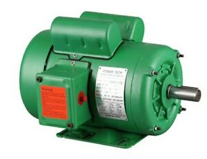 Nema Farm Duty 2 Hp 1725rpm 145t Single Phase Electric Motor 7 8 Shaft Tefc