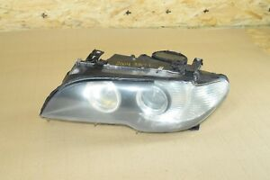 Bmw E46 Left Driver Side Face Lift Adaptive Xenon Headlight Lamp Complete Oem