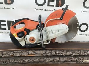 Stihl Ts420 Concrete Cut off Saw W 14 Diamond Blade Solid Runner ships Fast