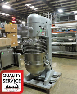 Hobart V1401 Commercial 140 Qt Mixer With Guard bowl 3 Ph