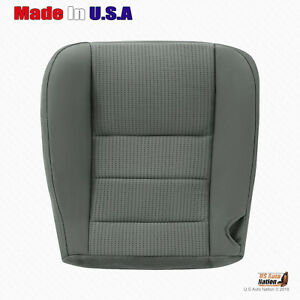 2008 To 2010 Ford F250 F350 F450 Xlt Driver Bottom Cloth Seat Cover stone Gray