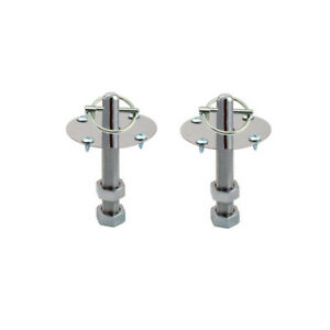 New Spectre 4257 Hood Pin Kit Torsion Pin Style Chrome Pair Lowest Prices