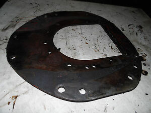 Farmall 400 Diesel Tractor Rear Engine Plate