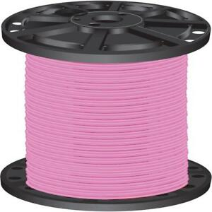 Durable Pink 2 500 Ft 10 Gauge Stranded Cu Thhn Building Electrical Wire