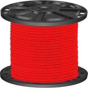 Red Moisture Resistant 2 500 Ft 10 Gauge Solid Cu Thhn Electrical Building Wire