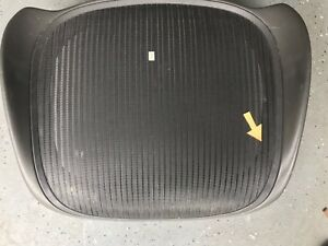 Herman Miller Aeron Office Chair Replacement Seat Pan And Mesh Small Blemish