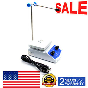 Sh 2 Digital Lab Hot Plate Magnetic Stirrer Mixer Thermostatic Blender 110v Us
