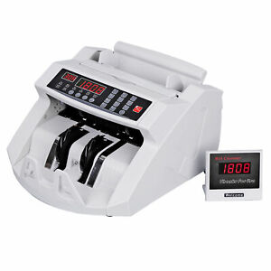 Professional Money Bill Counter Uv Mg Ir Counterfeit Bill Detector Ce Listed