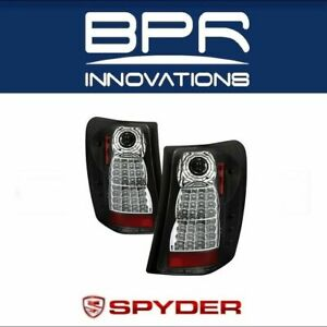 Spyder Led Tail Lights Black Pair For 1999 2004 Jeep Grand Cherokee 5005656