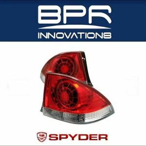 Spyder Led Tail Lights Red Clear Pair For 2001 2013 Lexus Is 300 Is300 5005823