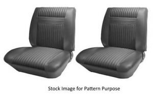 1964 Oldsmobile Cutlass Holiday Bucket Front Seat Covers