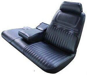 1970 Buick Riviera Custom Strato Bench With Armrest Seat Cover