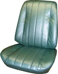 1966 Chevy Chevelle El Camino Pontiac Beaumont Front Bucket Seat Cover Pair