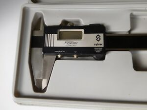 Sylac Fowler Ultra cal Ii Digital Calipers 0 6 With Case Mm Inch