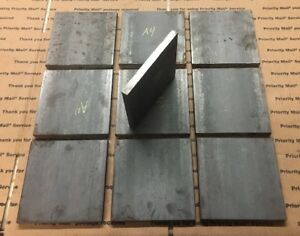1 2 Thick Steel Plates 6 X 6 Flat Bar Bracing Welding Supports 10 Pieces